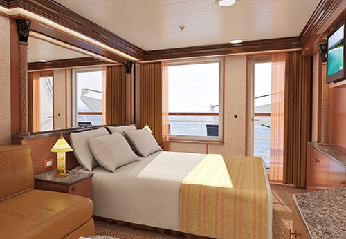 Carnival Cruise Line room