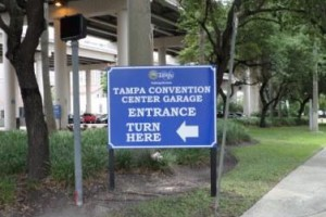 Tampa Convention Center Garage